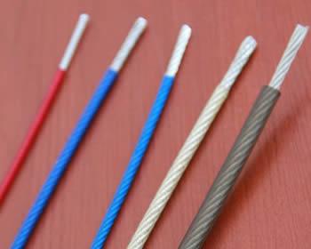 PVC, Polypropylene & Nylon Coated Wire Rope
